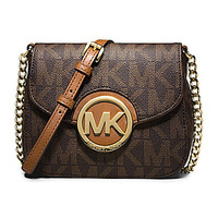 MICHAEL Michael Kors Signature Fulton Small Cross-Body Bag | Dillards.com