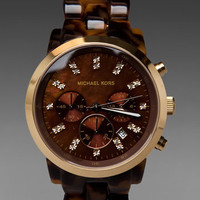 Michael Kors Showstopper Watch in Brown