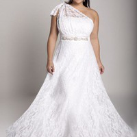 Plus Size Celine Wedding Gown by IGIGI