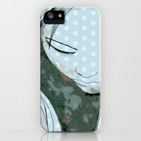 Beautiful Girl iPhone & iPod Case by Uma Gokhale