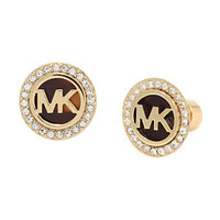 Michael Kors MK Logo Tortoise Stud Earrings | Dillard's Mobile