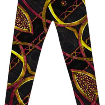Luxury Futuristic Leggings created by Rudimencial Design | Print All Over Me