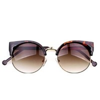 Thinkbay® New Vintage Style Cat Eye Sunglasses Sexy Fashion Women Eyeglasses Leopard
