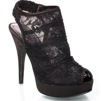 Women&#x27;s Black Heartbeat Heel By Chinese Laundry