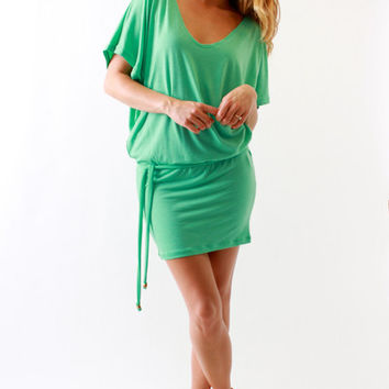 Farron Elizabeth, Yvonne Dress in Mint
