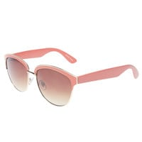 Epoxy Hipster Sunglasses | Wet Seal