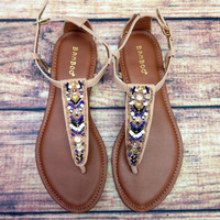 ANTIGUA BAY SANDAL IN SAND – LaRue Chic Boutique