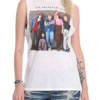 The Breakfast Club Lockers Girls Muscle Top