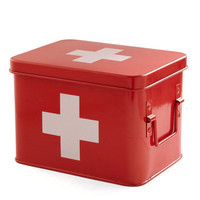 Head Over Healing First Aid Box | Mod Retro Vintage Bath | ModCloth.com