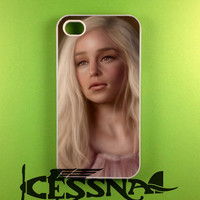 Game of Thrones Daenerys Targaryen Case for iPhone 4/4s, iPhone 5/5S/5C, Samsung S3 i9300, Samsung S4 i9500, Samsung S5 Case