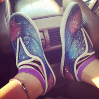 Galaxy Shoes by CustomizeYourLife on Etsy