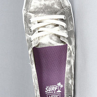 Vans The Palisades Vulc Sneaker in Gray and White Acid : Karmaloop.com - Global Concrete Culture