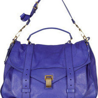 Proenza Schouler|PS1 Extra Large leather satchel|NET-A-PORTER.COM
