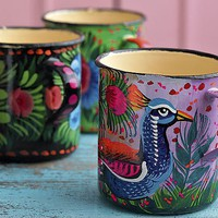 Painted mugs - Plmo Ltd