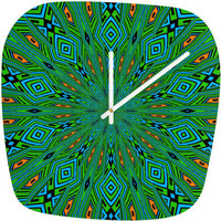 DENY Designs Home Accessories | Lisa Argyropoulos Urban Aztec Modern Clock