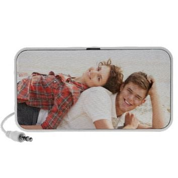 Personalized photo portable speaker. Make your own