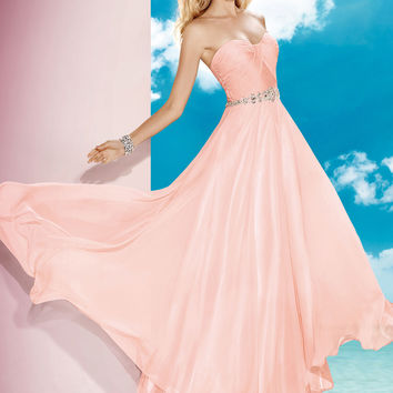 Alyce Paris 35580 - Rosewater Strapless Sweetheart Prom Dresses Online