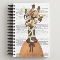 Giraffe Bonjour Paris Journal - World Market