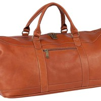 Leather All-American Duffel, SaddleCLAIRECHASE, INC.