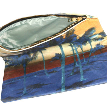 Intrepid Sunset Oversized Clutch