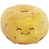 Squishable Glazed Donut: An Adorable Fuzzy Plush to Snurfle and Squeeze!