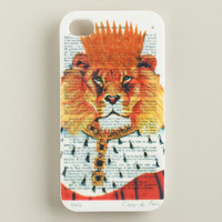 Lion Bonjour Paris iPhone 4 Case - World Market
