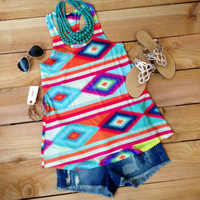 SUMMER IN SANTA FE TANK – LaRue Chic Boutique