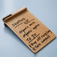 Bamboo Dry Erase Board | See Jane Work