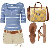 Affordable Summer Ensemble - Polyvore