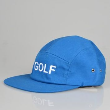 Odd Future GOLF Camp 5 Panel Cap - Blue