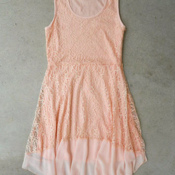 Spring Stroll Dress in Pink [5538] - $34.00 : Vintage Inspired Clothing & Affordable Dresses, deloom | Modern. Vintage. Crafted.