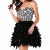 Beaded Sweetheart Dress by Epic Formals