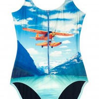 We Are Handsome Adventure Zip Swim Suit