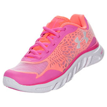 Girls' Grade School Under Armour Spine Lazer Running Shoes