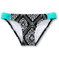 Malibu Folk Effect Tab Side Bikini Bottom