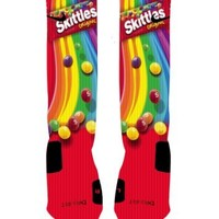 Skittles Candy Custom Nike Elite Socks