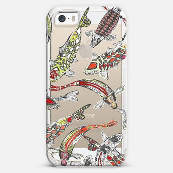 lucky koi transparent iPhone 5s case by Sharon Turner | Casetify
