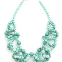 ModCloth Boho All I Wanna Dewdrop Necklace
