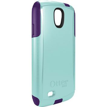 New Otterbox Commuter Series Case for Samsung Galaxy S4 (Aqua Blue/ Violet Purple)