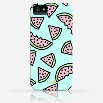 Watermelon Pattern Summer iPhone 4/4s iPhone 5/5s Case