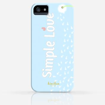 Simple Love Dandelion iPhone 4/4s iPhone 5/5s Case