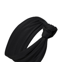 Knotted Turban-Style Headwrap