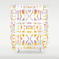 Mix #572 Shower Curtain by Ornaart