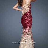 One Shoulder Sequin Dress