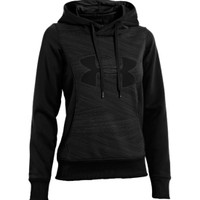 Under Armour Women's Armour Fleece Storm Eclipse Big Logo Hoodie