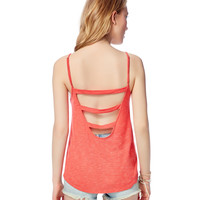 Open-Back Pinstripe Tank