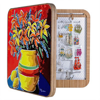 Renie Britenbucher Stylized Lillies And Lemons BlingBox - BlingBox