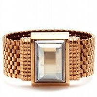 mytheresa.com -  Lanvin - MESH BRACELET WITH CRYSTAL - Luxury Fashion for Women / Designer clothing, shoes, bags