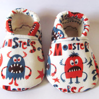 Little Piggies Baby Shoes- Monster Baby Boy Shoes
