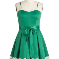 Emerald Smile Dress | Mod Retro Vintage Dresses | ModCloth.com